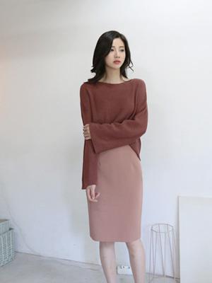 F / Wハイミディスカート(20カラー)