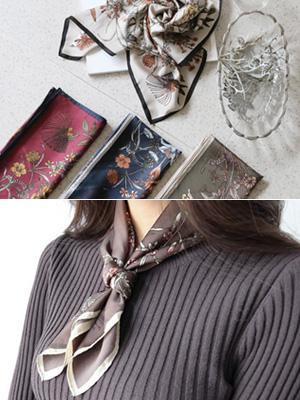 バラードフラワースカーフ