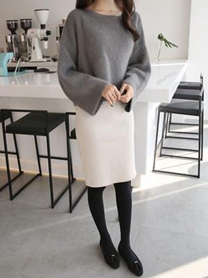 ドゥレンニットスカート(9カラー)