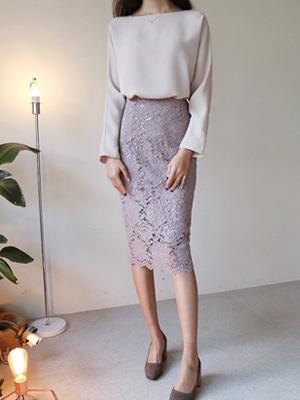 ブランレイススカート