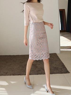 リースレイススカート