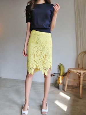 ビタミンレイススカート