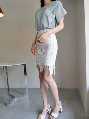 リンジーレイススカート