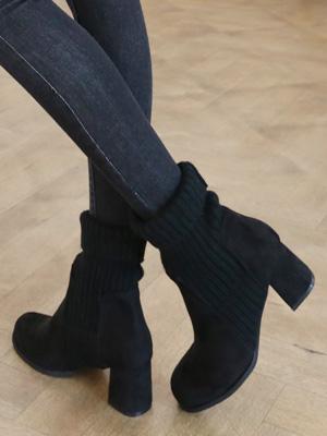 ロキシーのサックスアンクルブーツ(6cm)