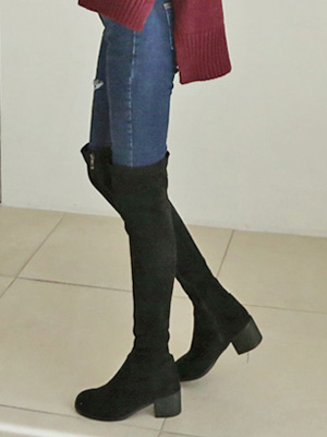 ニードルサイハイブーツ(5cm)