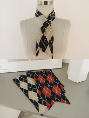 ユンアーガイルスカーフ