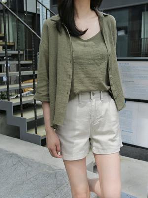 イディンコットンシャツセット(5カラー)