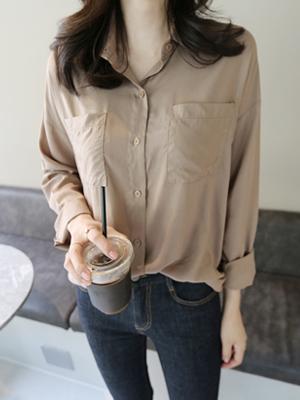 アルンポケットシャツ(5カラー)