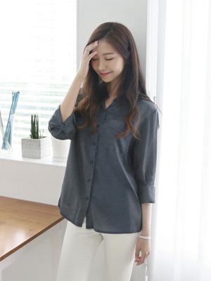 クラックポケットシャツ