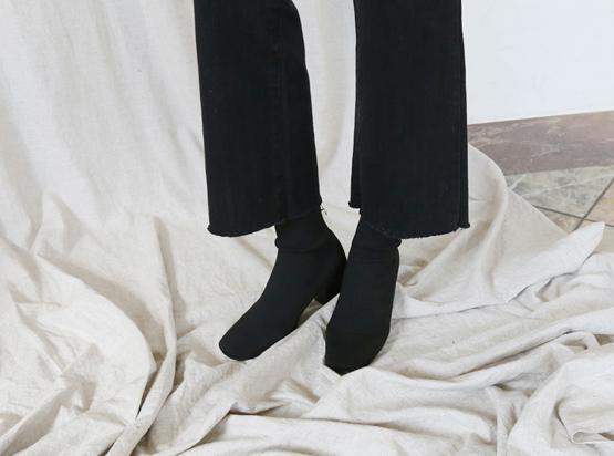 ニーソンサックスアンクルブーツ(5.5cm)