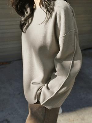 ソムソム起毛ティーシャツ(5カラー)