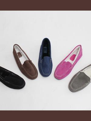 ウォーミングファーモカ靴(2cm)