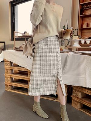 マーズリンツイードスカート