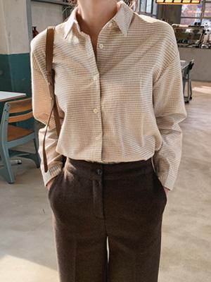 エミールズギンガムチェックシャツ